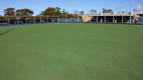 lawn bowls green at the Beacon Country Club