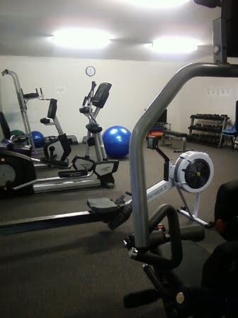 inside the Beacon Gym showing exercise equipment