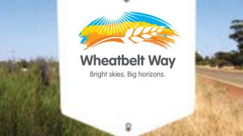 the wheatbelt way sign