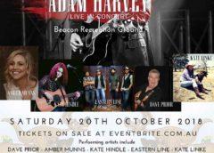 Adam Harvey Concert