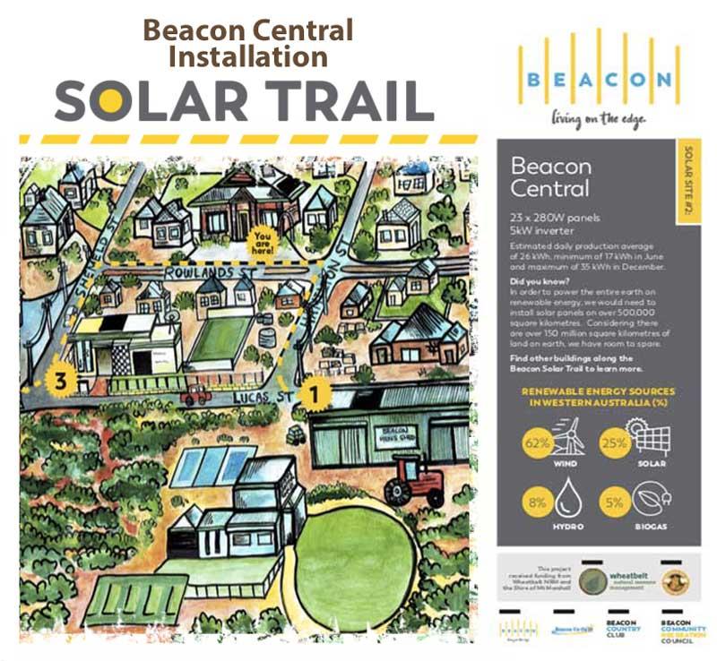 solar trail beacon central