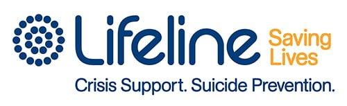 Lifeline crisis support logo