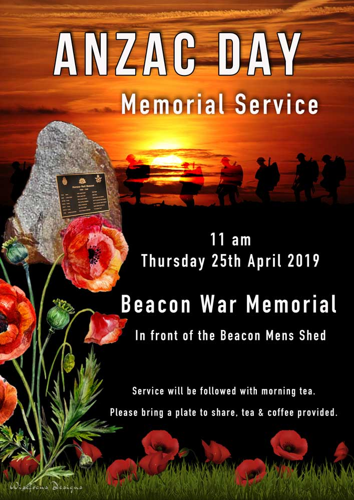 ANZAC Beacon Service 2019 post image