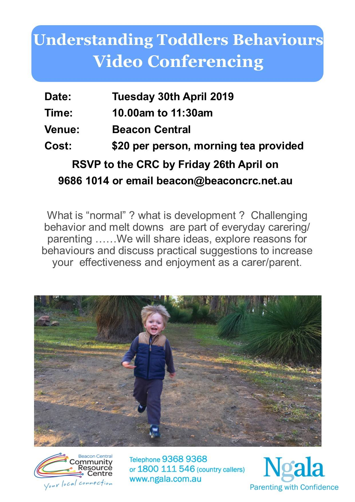 Beacon Central CRC Ngala conference 2019