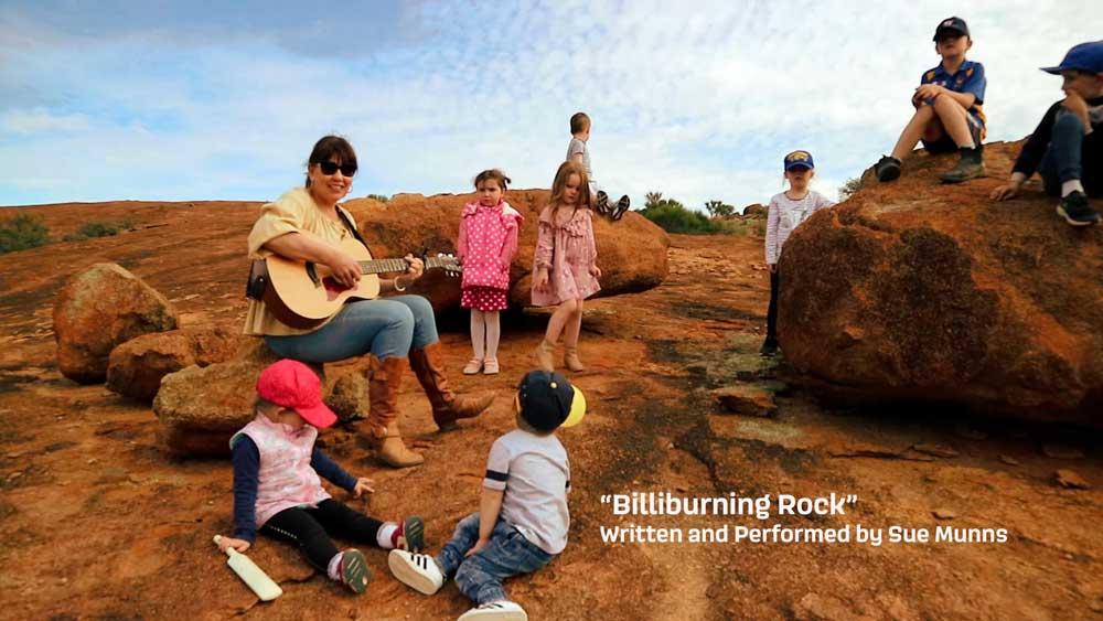 Billiburning Rock Music Video
