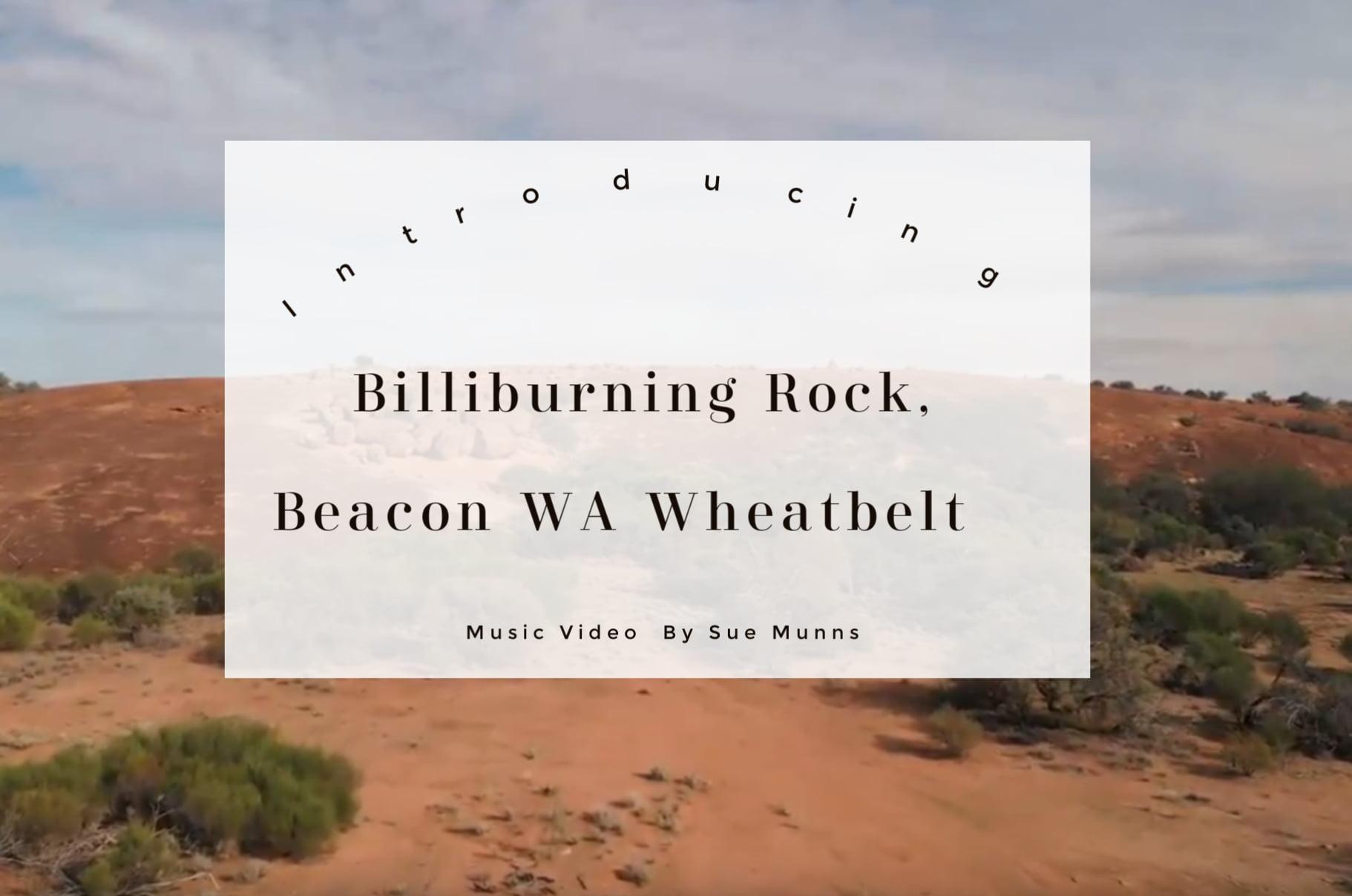 Billiburning Rock Video trailer