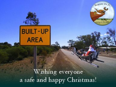 beacon wa post - christmas message