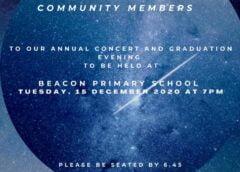 Beacon Primary School Concert-invite