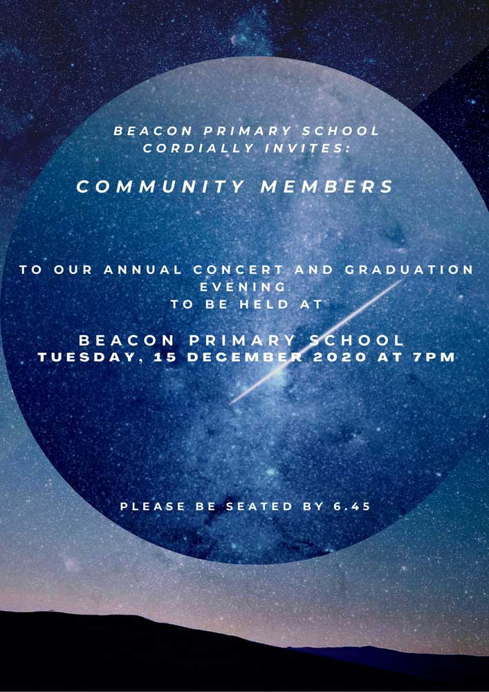 Beacon Primary School Concert-invite