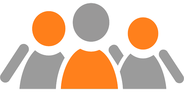 community groups in Beacon page - graphic of humans hugging