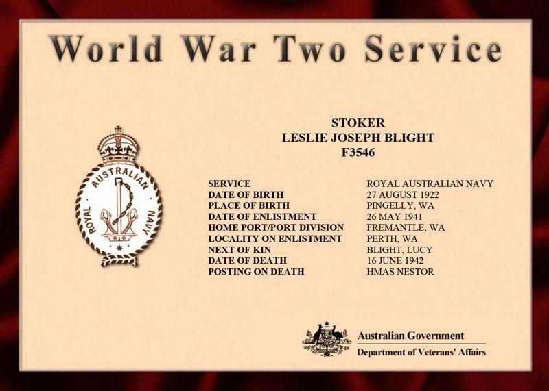 Blight Certificate