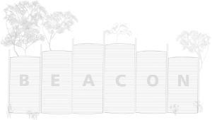 Sketch drawing of Beacon Progress Association logo alternative